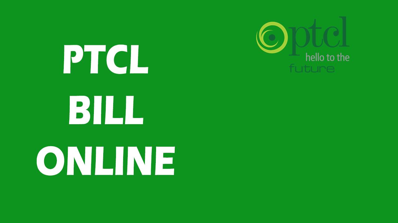 ptcl-bill